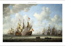 """JERONIMUS VAN DIEST """"A Battle At Sea"""" BROWSE our shop! various SIZES, BRAND NEW"""