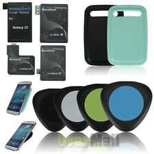 Qi TRI Wireless Charger Charging Pad For Samsung Galaxy S5 S4 S3 Note3+Receiver