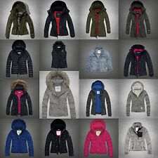 NWT Womens Abercrombie&Fitch Parka Coat Jacket Puffer All Weather Sz XS/S/M/L