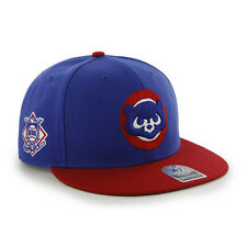 Chicago Cubs 47 Brand Cooperstown Big Shot Flat Bill MLB Snapback Hat NEW