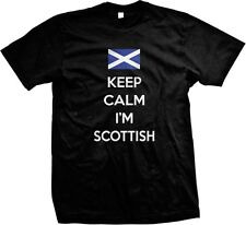 Keep Calm Im Scottish Gaelic Pride Scotland Independence Alba Mens T-shirt