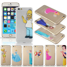 HOMER SIMPSONS SNOW WHITE FROZEN ELSA TOTEM MATTE CASE FOR APPLE IPHONE 6 4.7 UK