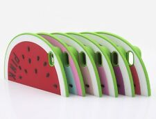 Hot Sale Watermelon Cartoon Soft Silicone Case Cover For iPhone 5 5G 5S 5C K158