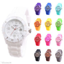 Prince London Silicone Watch Quartz Watch Women's Men's Big Face Watch NEW