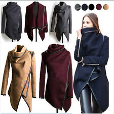 Women's Trench Slim Winter Warm Coat Long Wool Jacket Outwear Parka Size 10-18