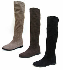 F4366- Ladies Spoton Knee High Boots 3 Colours- Black, Brown&Taupe.