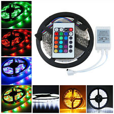 New Waterproof 5M 3528 300 LED Strip Light Flexible Party Lamp RGB Xmas's Light