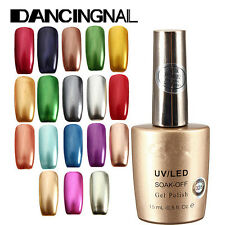 Bling Metallic Soak Off Long-lasting Nail Art Manicure Gel Polish Varnish 15ml