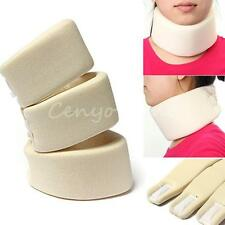 Soft Neck Brace Beige Cervical Collar Support Shoulder Press Relax Pain Relief