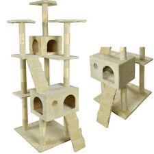 "New 73"" Cat Tree Scratcher Play House Condo Furniture Toy Bed Post Pet House9073"