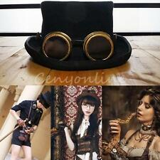 Vintage Victorian Steampunk Goggles Glasses Welding Halloween Xmas Party Cosplay