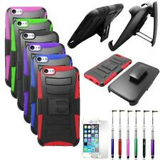 Phone Case For Iphone 6 Plus 6s Plus Holster Rugged Cover Stand Film stylus