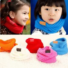 Kids Scarf Scarves Boys Girls Winter Neck Warmer Children Baby Christmas Gift