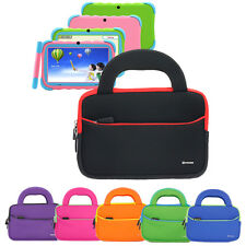 Sleeve Portfolio Cover Handle Carrying Case Bag For iRulu 7 inch Kids Tablet PC