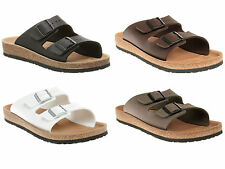 MENS BIRKENSTOCK RELAX 200 FLAT FOOTBED SANDALS SHOES SIZES 6-12 SECONDS BOXED