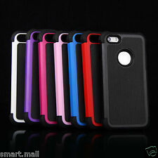 PC Shockproof Rubber Ball Buffer Hard Matte Case Cover For iPhone 5S 5 +Gift