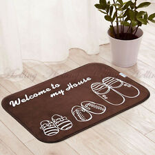 Home Living Room Doorway Bathroom Kitchen Floor Area Mat Decor Rug Carpet Lovely