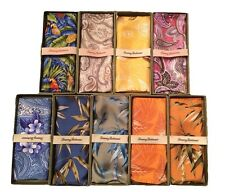 $58 Tommy Bahama Men's Silk Suit Pocket Squares Gift Box Many Colors