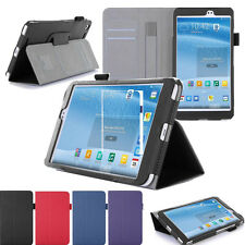 """Card Pocket Hand Strap Leather Case Sleep/Wake Up For Asus MeMo Pad 8 ME581C 8"""""""