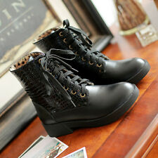 Fashion winter boots women shoes warm Comfort Black New Lace-up round toes cheap