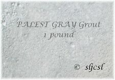 PALEST GRAY / SILVER SANDED GROUT ~ 1 & 2 LB ** Mosaic Tile TILES
