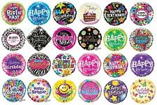 """18"""" Foil Party Balloons (Qualatex) - HAPPY BIRTHDAY General - Teen/Adult Designs"""