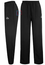 Track Pants Mens Lonsdale Woven Open Hem Gym Training Bottoms All Sizes S - 4XL