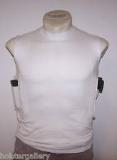 Concealment TShirt by Packin Tee gun holster tee shirt black or white