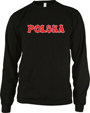 Rzeczpospolita Polska Text Polish Pride Republic of Poland Long Sleeve Thermal
