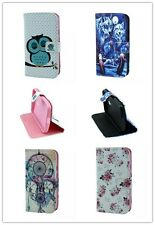 Magnetic Flip Card Holder Leather Wallet Cover Stand Case For Various Cell Phone
