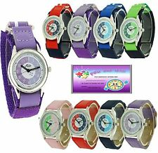 Relda Time Teacher Watch Velcro Buckle Strap Boys Girls Childrens Gift For Kids