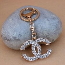 New Beautiful Car Keychain Crystal Key ring Gift Purse Women Charm Pendant