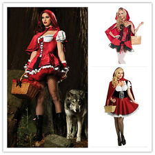 LITTLE RED RIDING HOOD Costume HALLOWEEN Fancy Dress PLUS SIZE Wholesale S-4XL