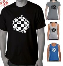 Chess Club Board T-Shirt Singlets Men's Ladies Retro Cool Tee Top Chess Pieces