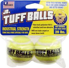 PETSPORT JR TUFF BALL 2 PACK TENNIS BALLS MINI UPICK FLAVOR FREE SHIP TO THE USA