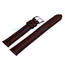 Brown Genuine Leather Quality Watch Strap Band Unisex Womens Mens Many Sizes
