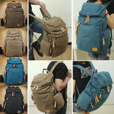Male Canvas Casual School Bag Rucksack Backpack & Hiking Bag Camping Bag FB287