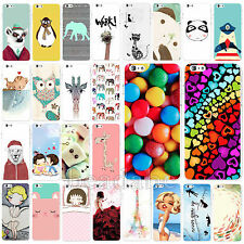 New Cartoon & Animal Pattern Hard Skin Cover Case For Apple iPhone 6 6S 6SPlus
