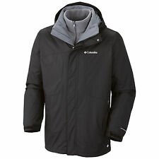 New Columbia mens 3 in 1 Interchange ski snow winter jacket parka S M L XL XXL