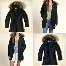 Hollister By Abercrombie Womens Scripps Pier Parka Jacket Sz XS,M,L New 2014