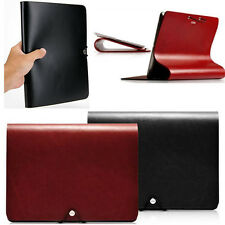 Luxury Genuine Calf Leather Stand Cover Case For Apple iPad mini 1 & 2 Tablet