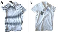 1 BRAND NEW ABERCROMBIE & FITCH NEW MEN POLO T-SHIRT WHITE SIZE S, M BNWT