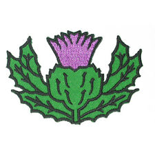 Iron On Patch Applique - Thistle Scottish Highland