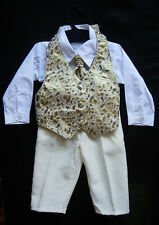 BABY BOY OUTFIT, Wedding, Christening, Special Occasion Suit, Ages 0-3 Years Old