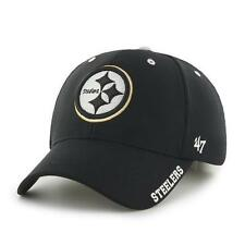 Pittsburgh Steelers 47 Brand Condenser Curved Bill Adjustable NFL Baseball Hat