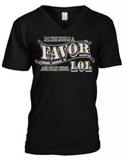 Do The World A Favor And Stop Using LOL Statement Meme Mens V-neck T-shirt