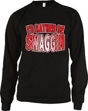 I'd Rather Be Swaggin Dope Hip Hop Rap Music Hustle Pimpin Long Sleeve Thermal