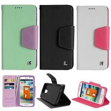 Phone Case For LG Access LTE PU Leather Wallet Case Stand / For LG L31g Case