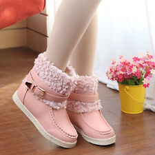 Female New Casual Winter Thick Bottom boots Fashion Boots anti-slip Shoes XP0033