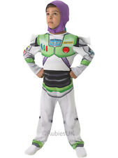 Child Licensed Buzz Lightyear Toy Story Outfit New Fancy Dress Costume Kids Boys